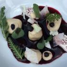 Foto zu Gut Lärchenhof · Gourmetrestaurant: Gang 1 mit Anguss