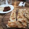 Fladenbrot aus dem Pizzaofen