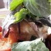 Ziegenkäse und Salat