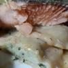 Nahaufnahme Fischfilet