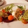 Thunfisch / Karotte / Ziegensahne