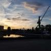 Blick zum Alberthafen