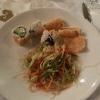 Sushi, Glasnudelsalat, Krupuk