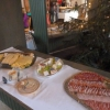 Platten mit Schinken und Käse