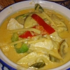 Gaeng Phet Gai, Rotes Curry mit Hühnchen