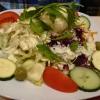 Beilagensalat mit Sahndressing