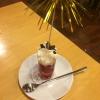 Vulkan Ausbruch. Vanilleeis mit Himbeeren und Sahne in einer Vulkan 0,1 L Bierstange (2,90€).