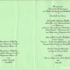 Hoefle Speisekarte zur Konfirmation