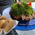 Foto zu Landhaus Am Kirschbaum: Thunfischsalat mit frischem Baguette