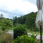 Foto zu Landhaus Am Kirschbaum: Blick von der Terrasse