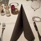 Foto zu Hotel Restaurant Roter Hahn: Gedeck