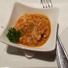 Foto zu Hotel Restaurant Roter Hahn: Gruß vom Haus, Reis mit Linsen gut abgeschmeckt