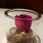 Foto zu Hotel Restaurant Roter Hahn: Tischdeko