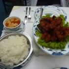 Foto zu China-Restaurant Golden Lotus: Schweinefleisch süß-sauer