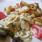 Foto zu Neue Mohr'sche Anlage: Schnittlauch-Eiersalat mit Bratkartoffeln