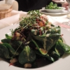 Feldsalat mit Speck und Co.