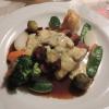 Chateaubriand mit buntem Gemüse und Kartoffelplätzchen