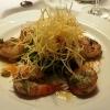 Garnelen, Jakobsmuscheln, Salat