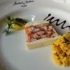 Gruß: Poulardenterrine mit Couscous