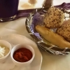 Brot und 2 Aufstriche (Tomate und Kräuterquark)
