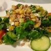 Tagesempfehlung: Feldsalat mit Speck und Croutons
