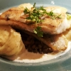 Filet vom heimischen Zander – Alb-Leisa-Linsen – Trüffel-Kartoffelpüree
