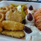 Foto zu Restaurant Piräus 1: Gemischte Vorspeisen Platte
