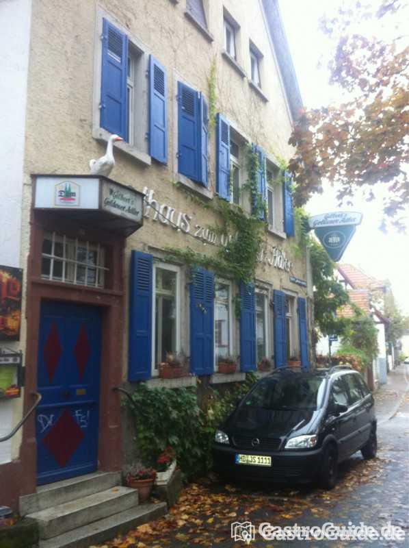 gilbert 39 s goldener adler restaurant in 69121 heidelberg. Black Bedroom Furniture Sets. Home Design Ideas