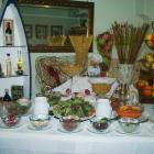 Foto zu Landgasthof zur Schönen Aussicht: Salatbuffet