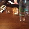 eingedeckterr Tisch