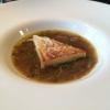 Zwiebelsuppe mit Riesling und Thymian