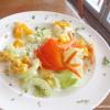 Salat - schon eine Gabel probiert