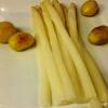 Pfälzer Spargel mit neuen Kartoffeln...