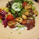 Foto zu Mauganeschtle: Salat mit Pilzen