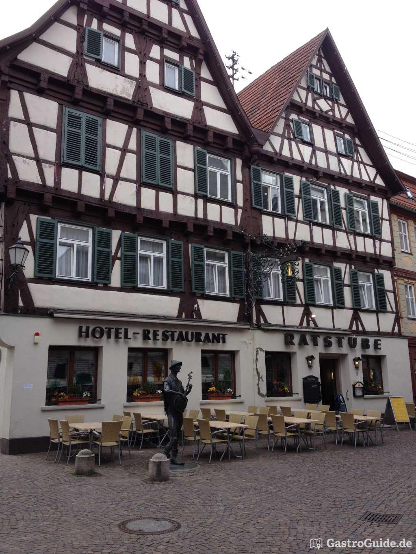 Ratsstube Restaurant In 72574 Bad Urach