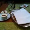 Weißbrot mit Chili-Butter und Kräuterquark
