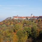 Foto zu Panoramahotel Waldenburg: Blick auf Waldenburg, den Balkon Hohenlohes