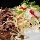 Foto zu Olympia: Gyros mit Salat