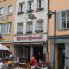Eiscafé Dolomiti im mittelalterlichen Haus zum Pelikan