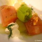 Foto zu Landgasthaus zum Rössle: Vorspeise mit Bachsaibling