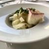 Amuse Bouche: Speckmousse mit Fenchelsalat