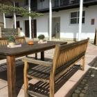 Foto zu Gasthof und Hotel zum Bären: 23.04.19 Mittagsrast auf der Terrasse