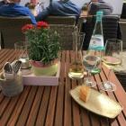 Foto zu Gasthof und Hotel zum Bären: 23.04.19 / ein Gläschen Auggener Weißburgunder zum Mittag