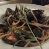 Muscheln nach portugiesischer Art mit Spaghetti