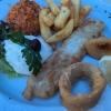 Calamari gebacken  und das Seezungenfilet
