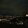 Abendstimmung hoch über Würzburg