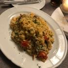 Foto zu Parkrestaurant Leonardo da Vinci: Risotto Frutti Marinara 10€