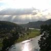 Wanderimpression Blick von der kleinen Bastei