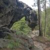 Wunderbare Impressionen und Felsformationen sind zu erwandern