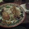 """""""Enchiladas con Carne des Res""""-Enchiladas, gefüllt mit Rindfleisch vom Angusrind & Käse, dazu Tomatenkartoffeln, Bohnenmus, Salat und Guacamole für 13,50 €"""
